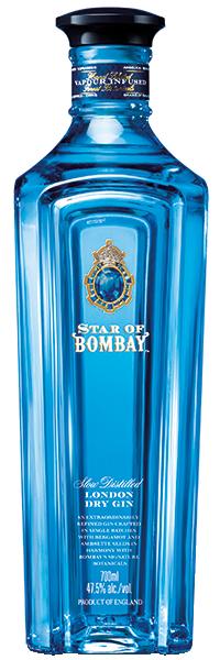 Star of Bombay London Dry Gin 47.5°