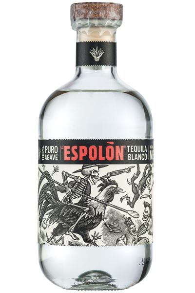Tequila Puro Agave Blanco Espolon 40°