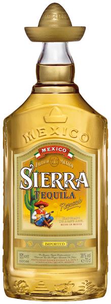 Tequila Sierra Reposado Gold 38°