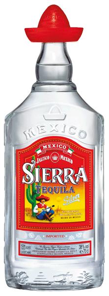 Tequila Sierra Silver 38°