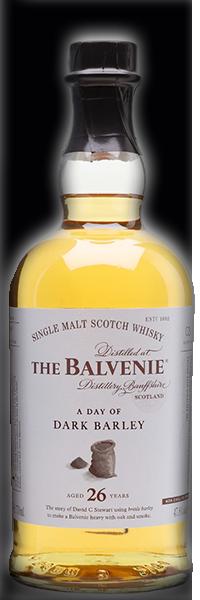 The Balvenie A Day of Dark Barley 26 years 47.8°