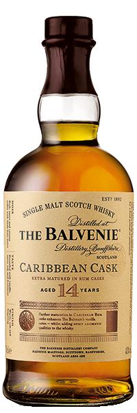 The Balvenie Caribbean Cask 14 years 43°