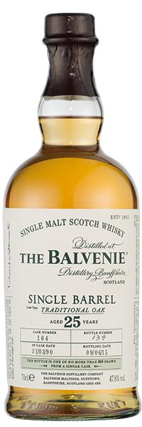 The Balvenie Single Barrel 25 years 47.8°