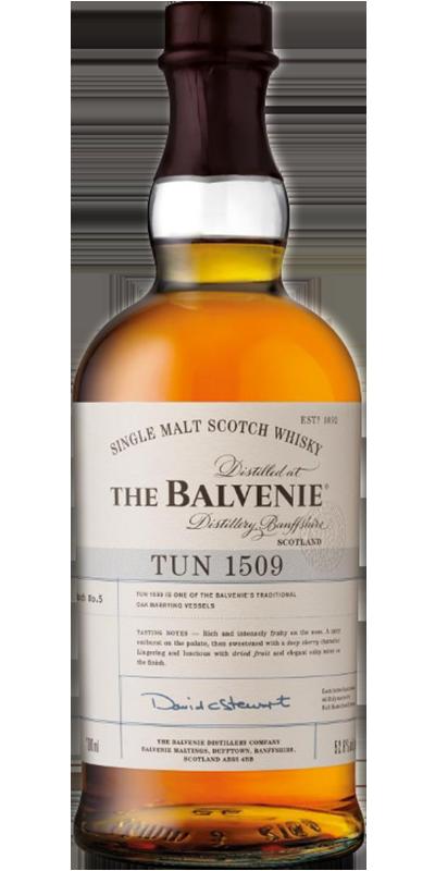 The Balvenie TUN 1509 Batch No 5 52.6°