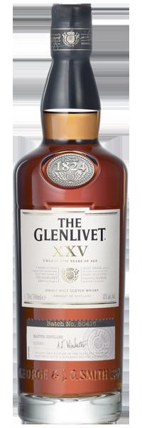 The Glenlivet 25 years old 43°