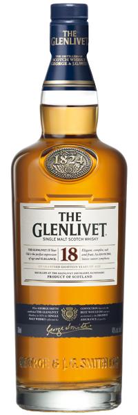The Glenlivet Pure Malt 18 years old 40°