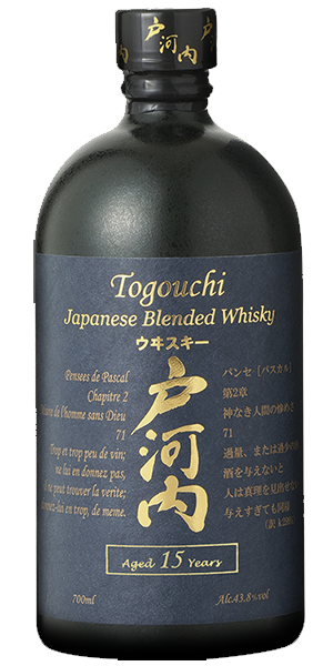Togouchi Blended 15y 40° Chugoku Jozo Distillery