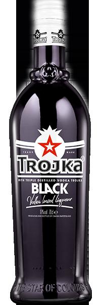 Trojka Black Vodka 17°