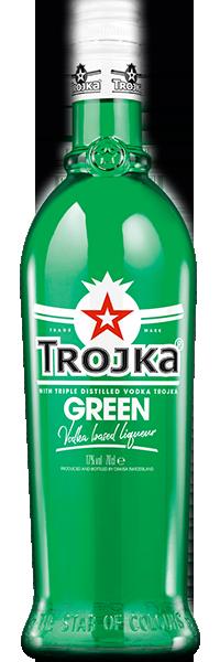 Trojka Green Vodka 17°