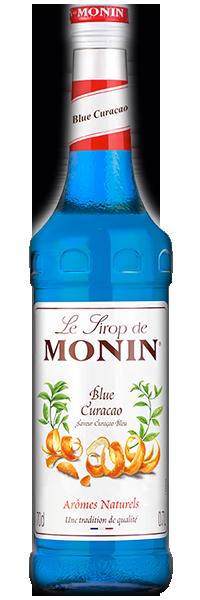 Curaçao blau Sirup Monin