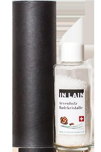 """Arvenholz-Badekristalle """"IN LAIN"""""""