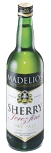 Sherry Madelios Pale Dry 17°