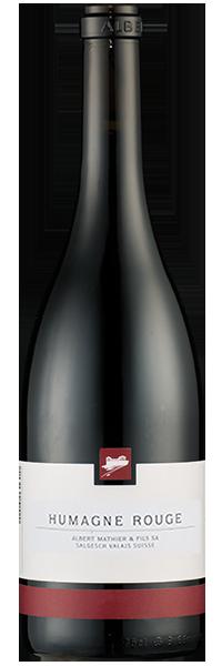 Humagne Rouge 2019 Albert Mathier & Fils