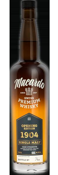 Macardo Opening Edition 1904 Single Malt 53.7°