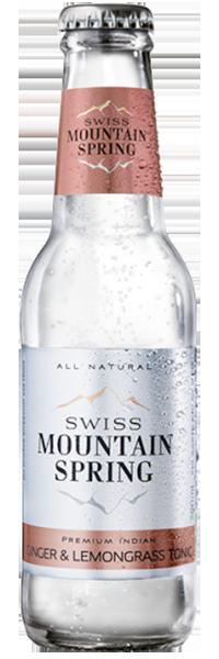 Swiss Mountain Spring Ginger & Lemongrass Tonic