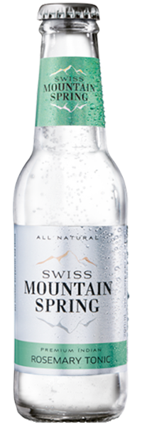 Swiss Mountain Spring Rosemary Tonic Water