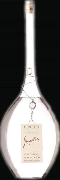"""Grappa di Moscato """"Distillato"""" Jacopo Poli 40°"""