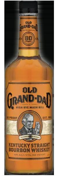 Jim Beam Old Grand Dad Bourbon 43°