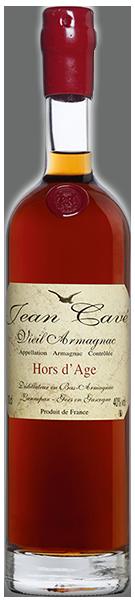 Armagnac Hors d'Age 40°  Jean Cavé
