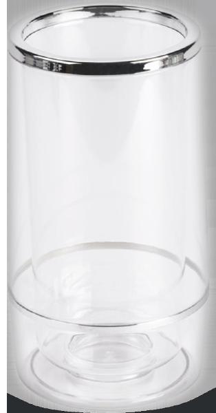 Weinkühler transparent 1lt