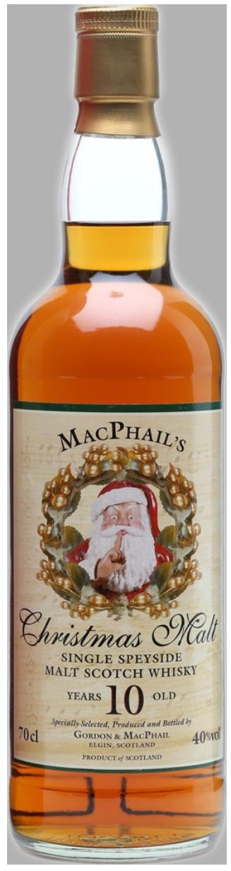 MacPhail's Christmas Malt 10 years 40°
