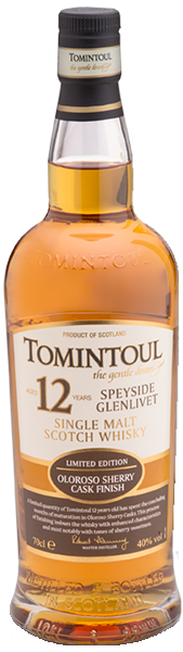 Tomintoul 12 years Oloroso Sherry Cask 40°