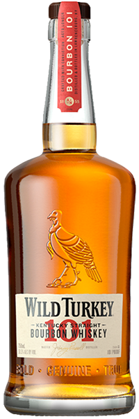 Wild Turkey 101 Proof Bourbon 50.5°