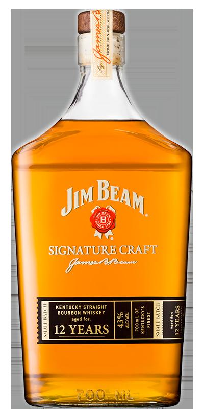 Jim Beam Signature Craft 12 years 43°
