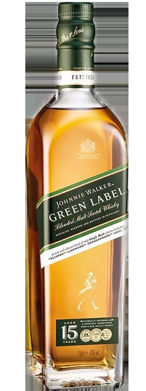 Johnnie Walker Green Label 15 years 43°