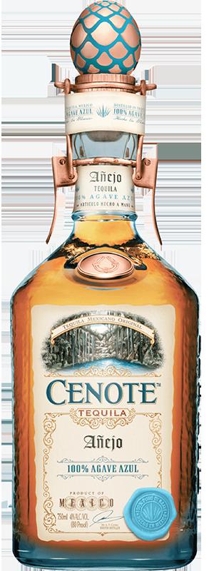 Tequila Cenote Anejo 40°